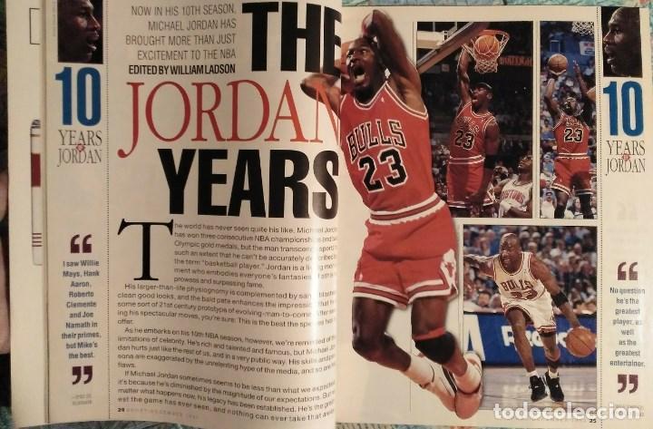 Coleccionismo deportivo: Michael Jordan - Revistas americanas Sport (1993) y Slam (1998) - NBA - Foto 3 - 189308125