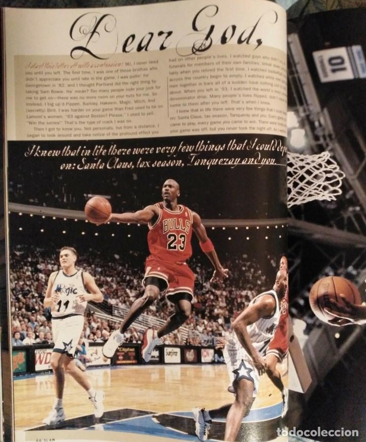 Coleccionismo deportivo: Michael Jordan - Revistas americanas Sport (1993) y Slam (1998) - NBA - Foto 6 - 189308125