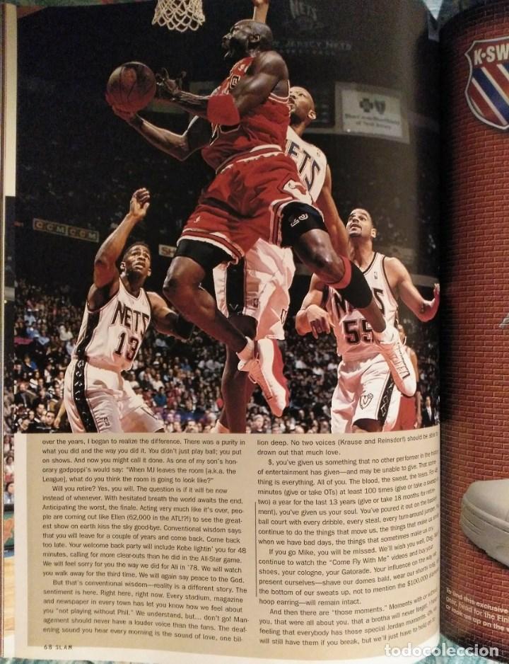 Coleccionismo deportivo: Michael Jordan - Revistas americanas Sport (1993) y Slam (1998) - NBA - Foto 7 - 189308125