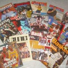 Coleccionismo deportivo: LOTE 14 REVISTA BALONCESTO. GIGANTES BASKET, NBA, CLINIC. VER FOTOS Y LISTADO. Lote 189696758