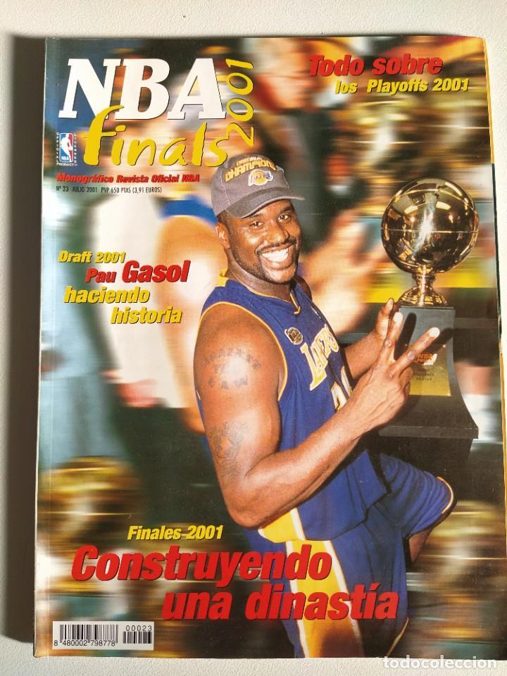 NBA FINALS 2001 - MONOGRÁFICO REVISTA OFICIAL NBA Nº 23 (Coleccionismo Deportivo - Revistas y Periódicos - otros Deportes)