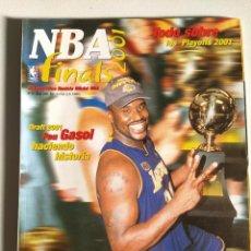 Coleccionismo deportivo: NBA FINALS 2001 - MONOGRÁFICO REVISTA OFICIAL NBA Nº 23 . Lote 189991633
