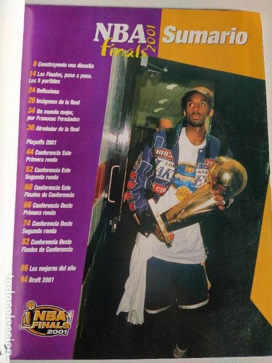Coleccionismo deportivo: NBA FINALS 2001 - MONOGRÁFICO REVISTA OFICIAL NBA Nº 23 - Foto 2 - 189991633
