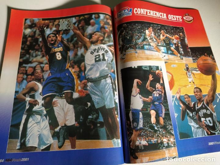 Coleccionismo deportivo: NBA FINALS 2001 - MONOGRÁFICO REVISTA OFICIAL NBA Nº 23 - Foto 5 - 189991633