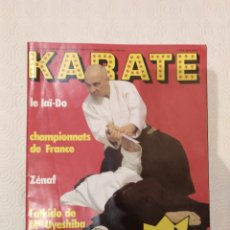 Colecionismo desportivo: REVISTA KARATE NUMERO 63. TEXTO EN FRANCES.. Lote 190087217