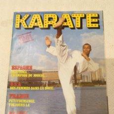 Colecionismo desportivo: REVISTA KARATE NUMERO 70. TEXTO EN FRANCES.. Lote 190087898