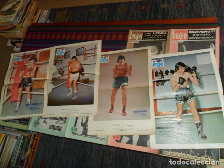 Coleccionismo deportivo: BOXEO Nº 100 EDICIÓN EXTRAORDINARIA 119 120 121 122 127 130 FEBOX 203 204 205 212 CON PÓSTER. 1966. - Foto 2 - 190128372