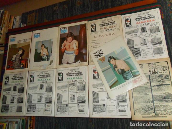 Coleccionismo deportivo: BOXEO Nº 100 EDICIÓN EXTRAORDINARIA 119 120 121 122 127 130 FEBOX 203 204 205 212 CON PÓSTER. 1966. - Foto 3 - 190128372