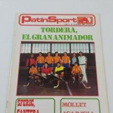 Coleccionismo deportivo: REVISTA PATIN SPORT HOCKEY PATINES AÑO II NÚMERO 14 MARZO 1980 TORDERA MOLLET SFERIC. Lote 190511000