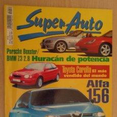 Coleccionismo deportivo: DE KIOSKO. REVISTA SUPER AUTO Nº 52. JULIO 1997. PORSCHE BOXTER. BMW Z3. TOYOTA COROLLA. Lote 190544190