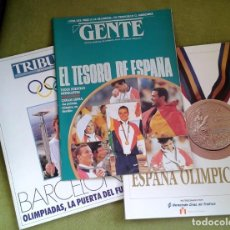 Coleccionismo deportivo: REVISTAS ESPECIAL OLIMPIADAS BARCELONA 92. CAMBIO 16, TRIBUNA Y GENTE. Lote 190909757