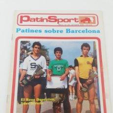 Coleccionismo deportivo: REVISTA PATIN SPORT HOCKEY PATINES AÑO II NÚMERO 20 OCTUBRE 1980 CIBELES REUS DEPORTIU.. Lote 190990552