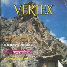 Coleccionismo deportivo: REVISTA VERTEX 159 FEEC LES GRANS JORASSES PILAR CENTRAL DEL FRENEY LA VALL DE CAMPCARDOS . Lote 191271858
