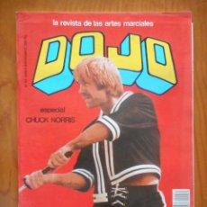 Coleccionismo deportivo: DOJO. LA REVISTA DE LAS ARTES MARCIALES. Nº 81. ESPECIAL CHUCK NORRIS. POSTER BRUCE LEE. Lote 191394310