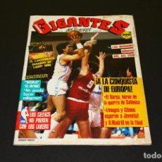 Coleccionismo deportivo: GIGANTES DEL BASKET NÚM. 121 - 29.02.1988 - POSTER LARRY BIRD EL LANZAMIENTO GANADOR.. Lote 192371228