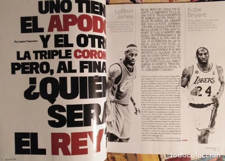 Coleccionismo deportivo: Kobe Bryant - Lote de revistas Gigantes del Basket y Revista Oficial NBA (1997-2009) - Foto 2 - 192511808