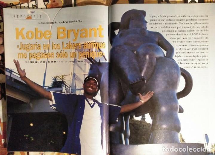 Coleccionismo deportivo: Kobe Bryant - Lote de revistas Gigantes del Basket y Revista Oficial NBA (1997-2009) - Foto 3 - 192511808