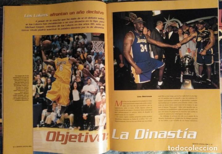 Coleccionismo deportivo: Kobe Bryant - Lote de revistas Gigantes del Basket y Revista Oficial NBA (1997-2009) - Foto 4 - 192511808