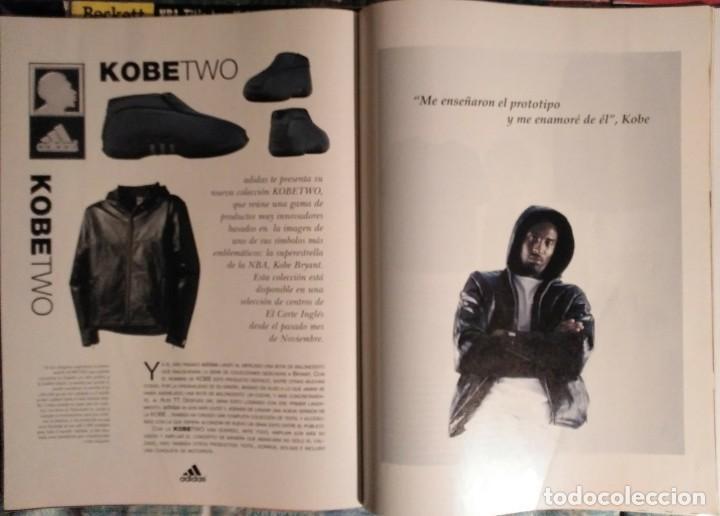 Coleccionismo deportivo: Kobe Bryant - Lote de revistas Gigantes del Basket y Revista Oficial NBA (1997-2009) - Foto 5 - 192511808