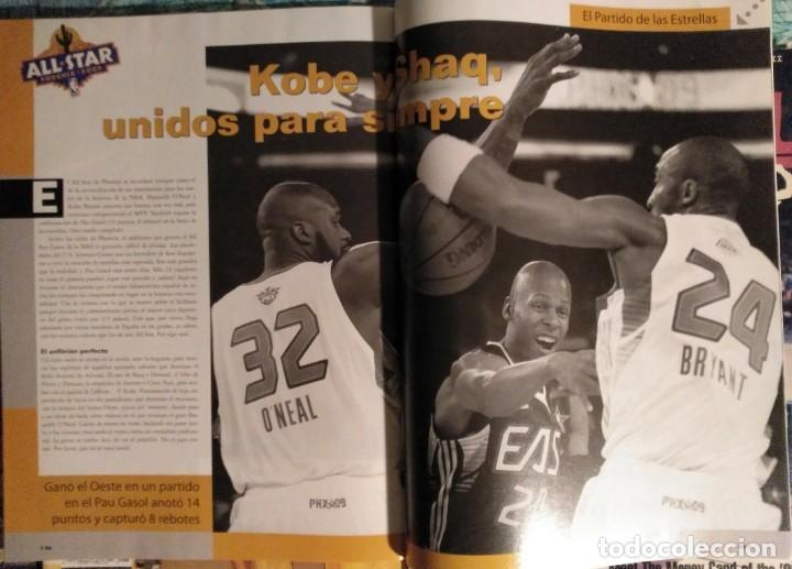 Coleccionismo deportivo: Kobe Bryant - Lote de revistas Gigantes del Basket y Revista Oficial NBA (1997-2009) - Foto 6 - 192511808