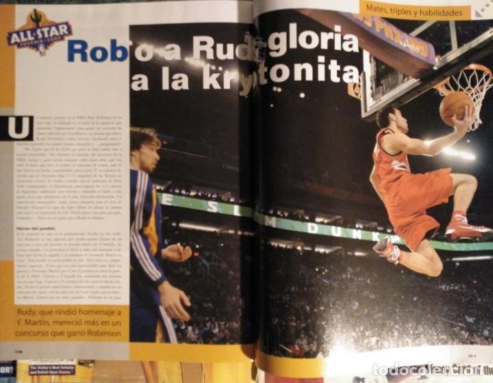 Coleccionismo deportivo: Kobe Bryant - Lote de revistas Gigantes del Basket y Revista Oficial NBA (1997-2009) - Foto 7 - 192511808