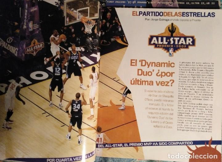 Coleccionismo deportivo: Kobe Bryant - Lote de revistas Gigantes del Basket y Revista Oficial NBA (1997-2009) - Foto 9 - 192511808