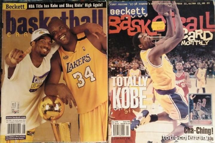 Coleccionismo deportivo: Kobe Bryant - Lote de revistas Gigantes del Basket y Revista Oficial NBA (1997-2009) - Foto 10 - 192511808