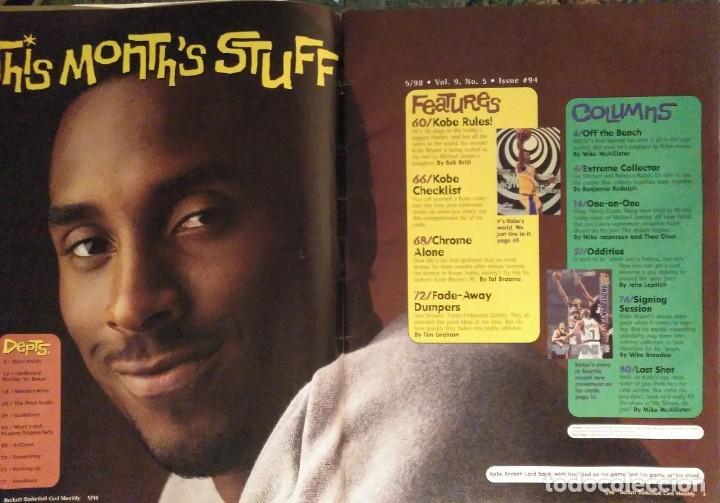 Coleccionismo deportivo: Kobe Bryant - Lote de revistas Gigantes del Basket y Revista Oficial NBA (1997-2009) - Foto 11 - 192511808