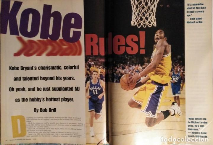 Coleccionismo deportivo: Kobe Bryant - Lote de revistas Gigantes del Basket y Revista Oficial NBA (1997-2009) - Foto 12 - 192511808