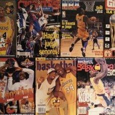 Coleccionismo deportivo: KOBE BRYANT - LOTE DE REVISTAS ''GIGANTES DEL BASKET'' Y ''REVISTA OFICIAL NBA'' (1997-2009). Lote 192511808