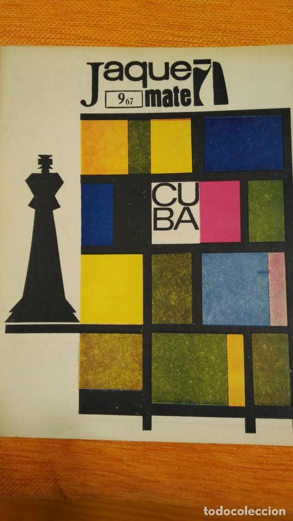 AJEDREZ. REVISTA JAQUE MATE Nº 9. SEPTIEMBRE 1967. CUBA. (Coleccionismo Deportivo - Revistas y Periódicos - otros Deportes)