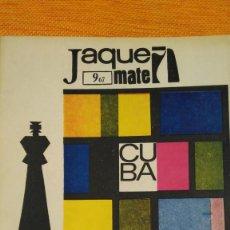 Coleccionismo deportivo: AJEDREZ. REVISTA JAQUE MATE Nº 9. SEPTIEMBRE 1967. CUBA.. Lote 192658898