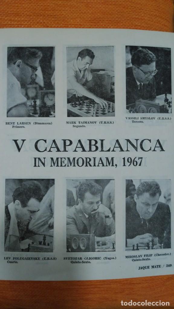 Coleccionismo deportivo: Ajedrez. Revista Jaque mate nº 9. Septiembre 1967. Cuba. - Foto 3 - 192658898
