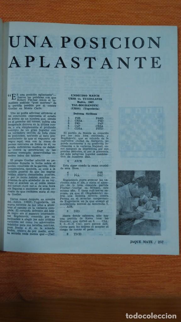 Coleccionismo deportivo: Ajedrez. Revista Jaque mate nº 9. Septiembre 1967. Cuba. - Foto 4 - 192658898