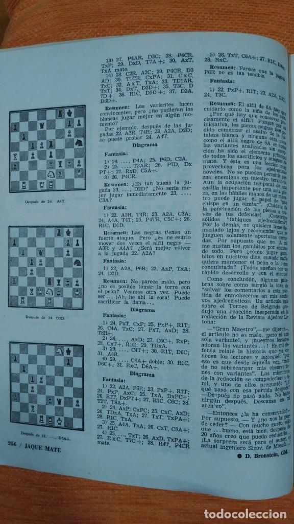 Coleccionismo deportivo: Ajedrez. Revista Jaque mate nº 9. Septiembre 1967. Cuba. - Foto 5 - 192658898