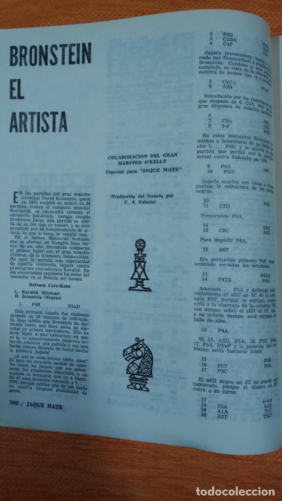 Coleccionismo deportivo: Ajedrez. Revista Jaque mate nº 9. Septiembre 1967. Cuba. - Foto 6 - 192658898