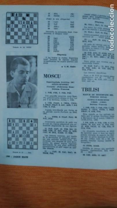 Coleccionismo deportivo: Ajedrez. Revista Jaque mate nº 9. Septiembre 1967. Cuba. - Foto 7 - 192658898