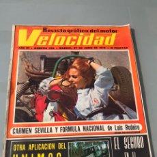 Coleccionismo deportivo: REVISTA GRÁFICA DEL MOTOR. VELOCIDAD. Lote 193397802