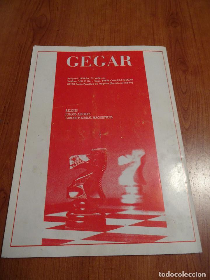 Coleccionismo deportivo: Revista ajedrez Butlleti Escacs nº 65 Julio 1993 - Foto 2 - 193756970