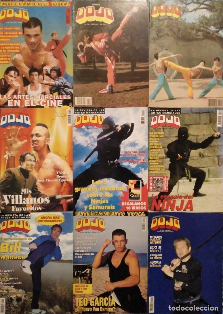 LOTE DE 27 REVISTAS DE ARTES MARCIALES ''DOJO'' (Coleccionismo Deportivo - Revistas y Periódicos - otros Deportes)