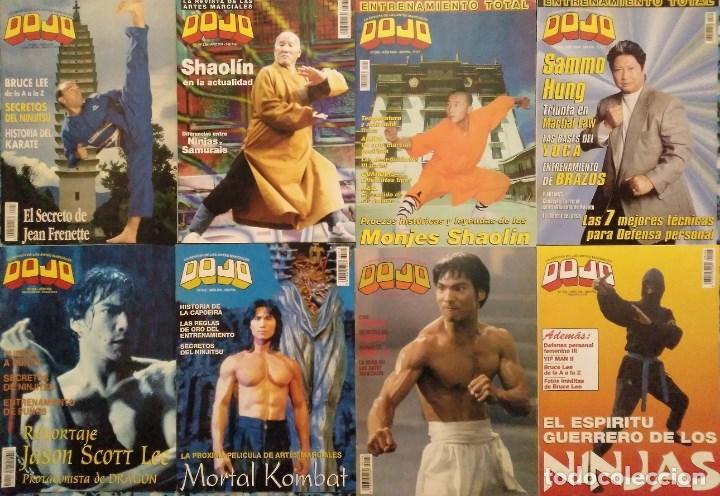 Coleccionismo deportivo: Lote de 27 revistas de artes marciales Dojo - Foto 2 - 194096947