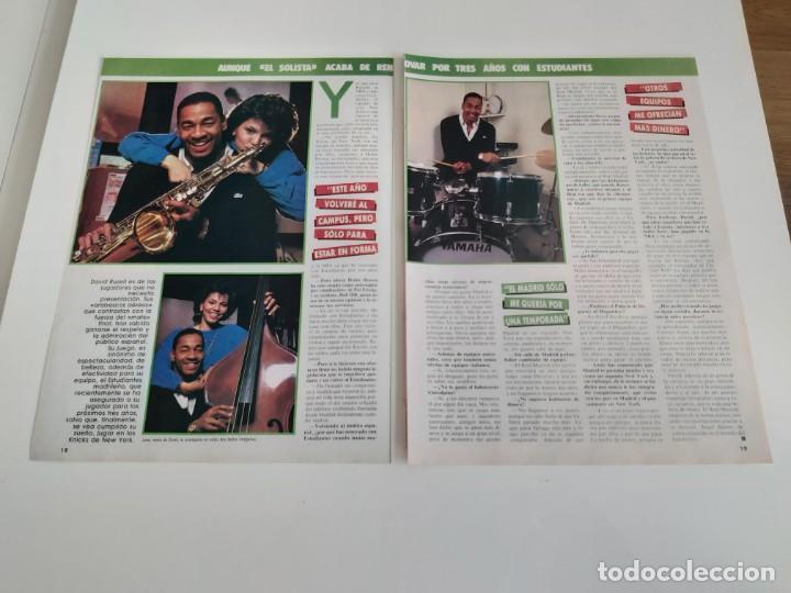 Coleccionismo deportivo: ENTREVISTA 3 PAGINAS BALONCESTO DAVID RUSSELL(ESTUDIANTES) F2 - Foto 2 - 194248176