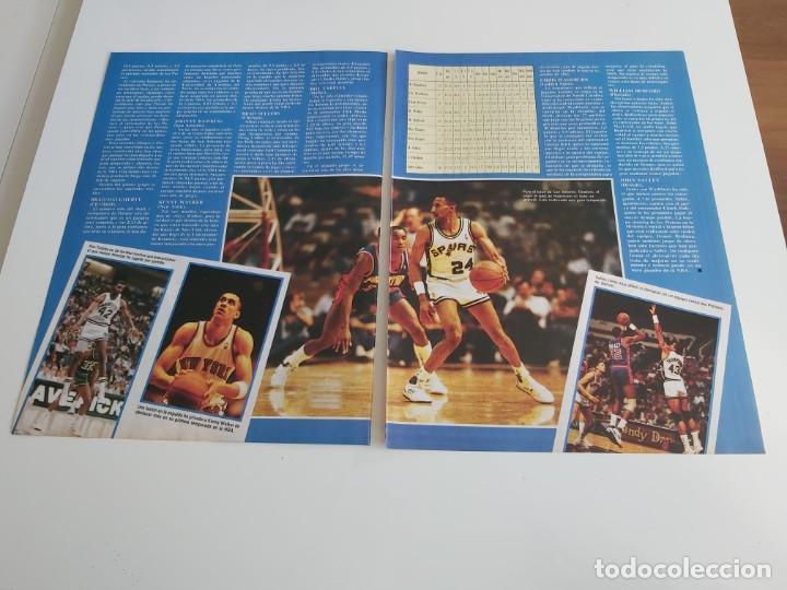Coleccionismo deportivo: REPORTAJE 4 PAGINAS BALONCESTO NBA SOBRE ROOKIE DEL AÑO HARPER(CAVS) O PERSON(PACERS) F2 - Foto 2 - 194248417