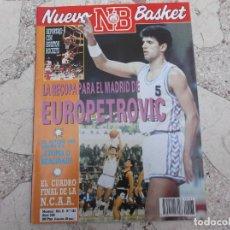 Coleccionismo deportivo: NUEVO BASKET Nº 183, 1989, EUROPETROVIC,REPORTAJE CON HOUSTON ROCKETS,JUAN RAMOS MARRERO. Lote 194660753