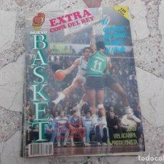 Coleccionismo deportivo: NUEVO BASKET EXTRA Nº 1, FALTA POSTER, JORDI VILLACAMPA,EL CARISMA DEL REAL MADRID LE VALIO EL TITUL. Lote 194661883
