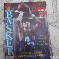 Coleccionismo deportivo: NUEVO BASKET Nº 129,Nº 1 SUPER EPI,JULIUS ERVING DOCTOR EN BASKET,SUPERMAN RIVA. Lote 194662927