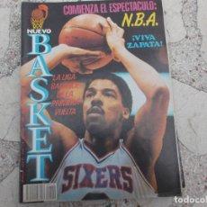 Coleccionismo deportivo: NUEVO BASKET Nº 138, POSTER NATE DAVIS,COMIENZA NBA,VIVA ZAPATA,JORDAN SHOW, . Lote 194663826