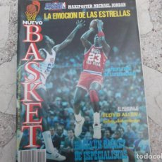 Coleccionismo deportivo: NUEVO BASKET Nº 154, POSTER LA EMOCION DE LAS ESTRELLAS, FALTA EL MAXI POSTER DE JORDAN,FLOYD ALLEN. Lote 194664635