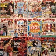 Coleccionismo deportivo: MICHAEL JORDAN - 13 REVISTAS ''GIGANTES DEL BASKET'' (1991-1994) - NBA. Lote 194906918