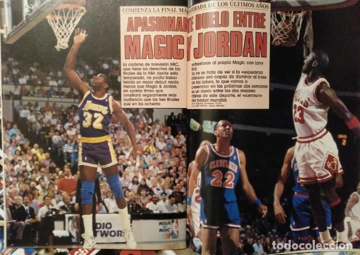 Coleccionismo deportivo: Michael Jordan - 13 revistas Gigantes del basket (1991-1994) - NBA - Foto 2 - 194906918